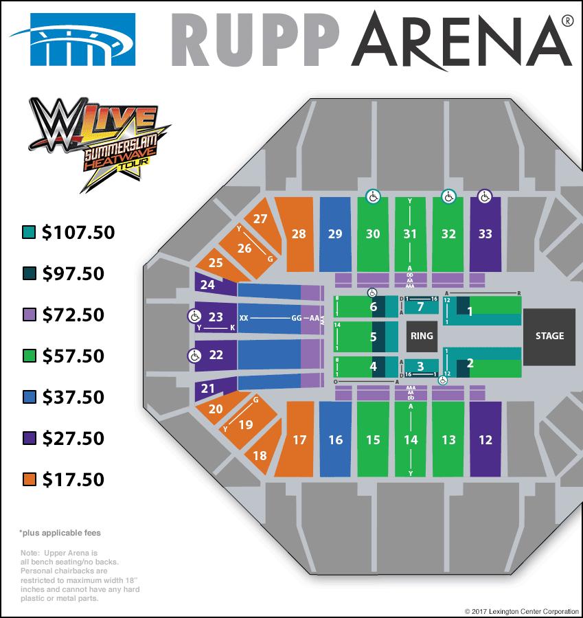 corbin arena seating chart