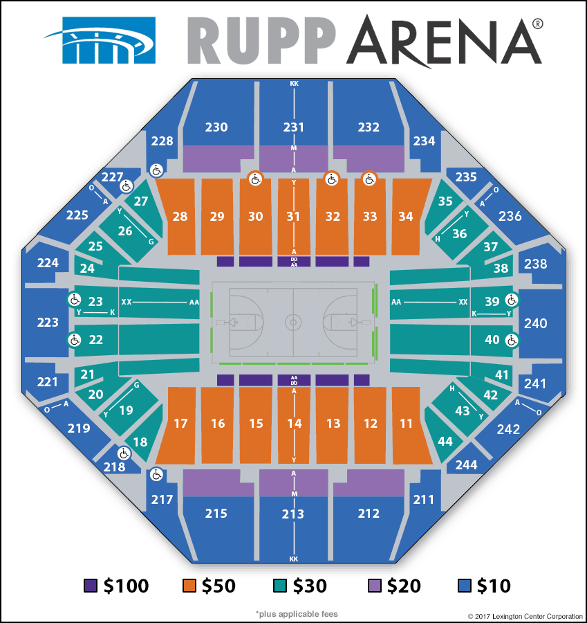 University Of Kentucky Basketball Seating Chart | Brokeasshome.com