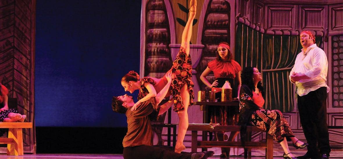 Kentucky Ballet theatre presents Carmen