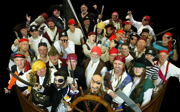 More Info for The Kentuckians Chorus: The Singing Pirates!