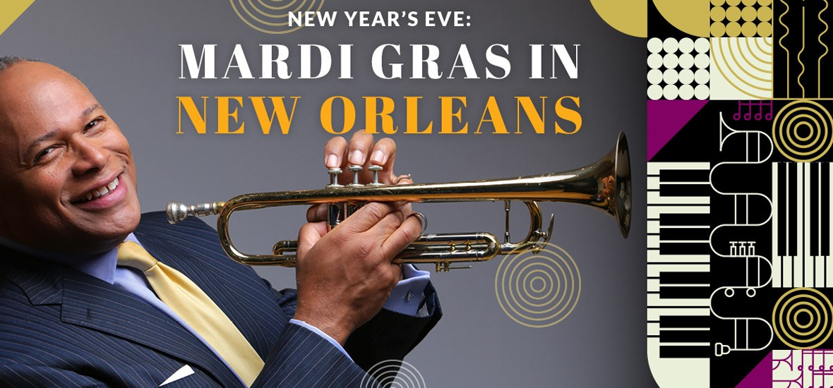 NEW YEARS EVE: MARDI GRAS IN NEW ORLEANS