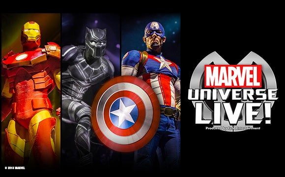 More Info for Marvel Universe Live!