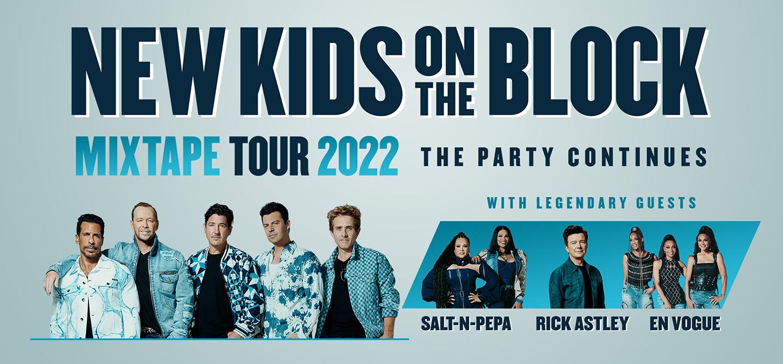 NEW KIDS ON THE BLOCK - THE MIXTAPE TOUR 2022