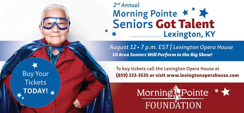 2nd Annual Morning Pointe Seniors Got Talent