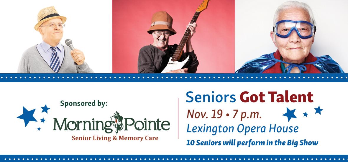 The Morning Pointe Foundation Presents Seniors Got Talent